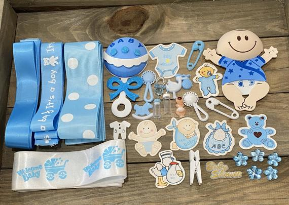 Baby Shower Mommy to Be Corsage DIY Kit