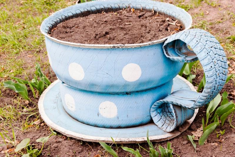 Create a Cute Teacup Planter