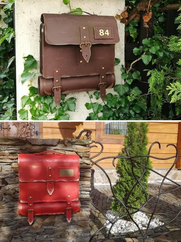 Metal Mailbox or Garden Organizer