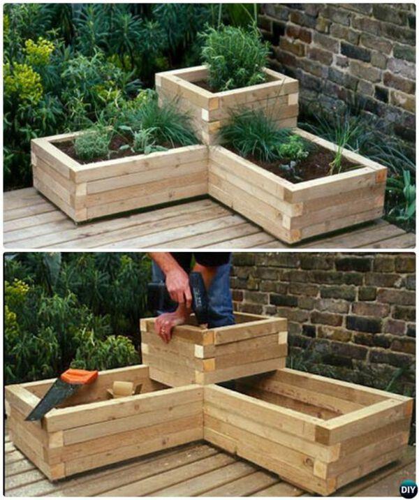 DIY creat planter build