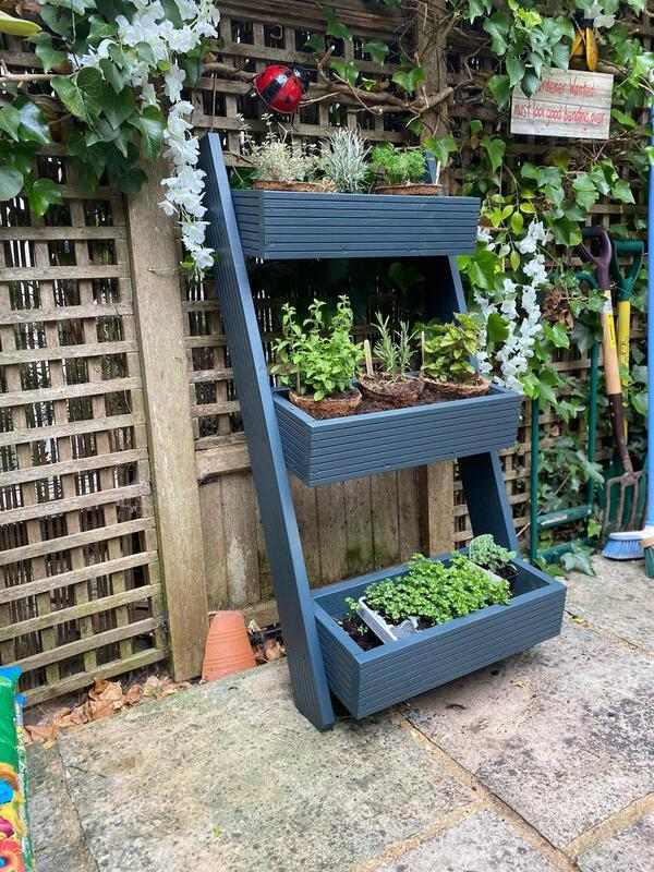 Multi tiered planter