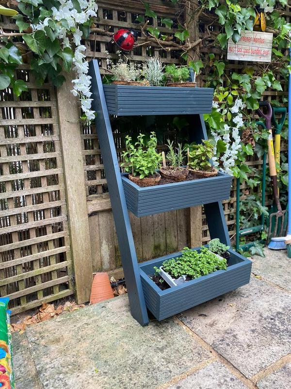 Multi tiered planter