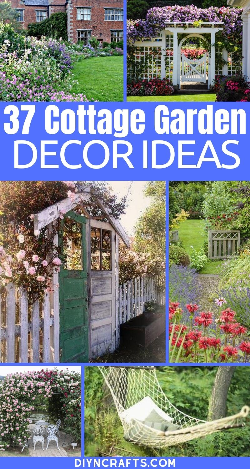 Cottage decor collage