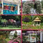 Cottage decor collage