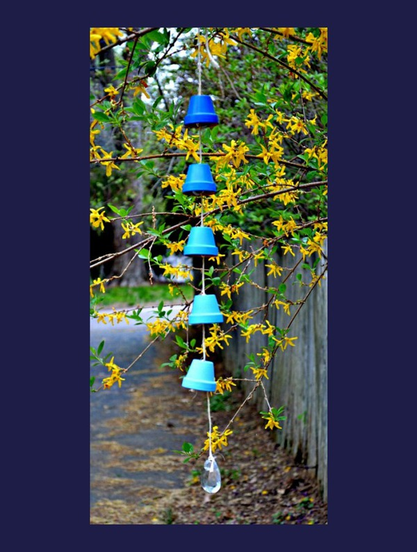Ombre bird chime