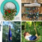 Hanging decor collage