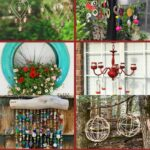 Hanging decor collage