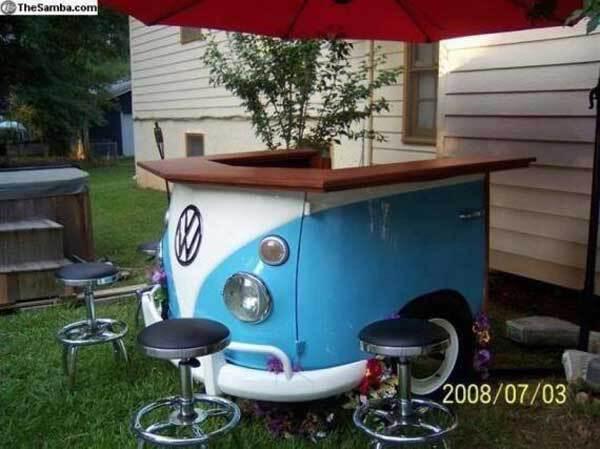 VW van bar