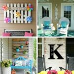 Porch wall decor collage