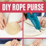 Rope purse collage