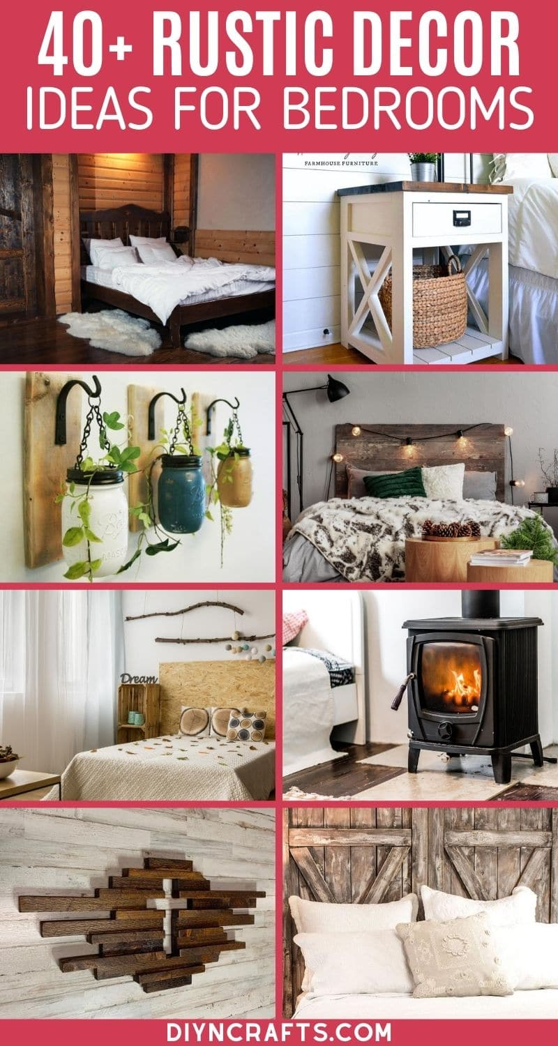 40 Cozy Rustic Decor Ideas For A Bedroom Oasis Diy Crafts