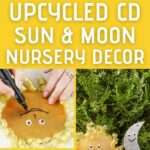 Sun and moon baby decor collage