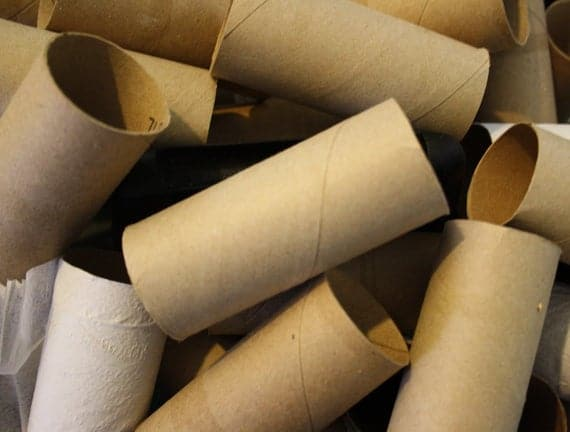 50 Toilet Paper Roll Tubes Craft Supply Recycle Paper Art | Etsy