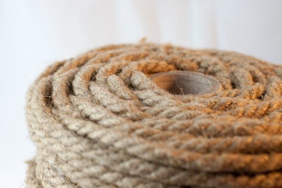 Natural Hemp Rope 8mm | Etsy