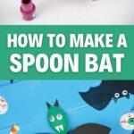 Hanging spoon bat collage
