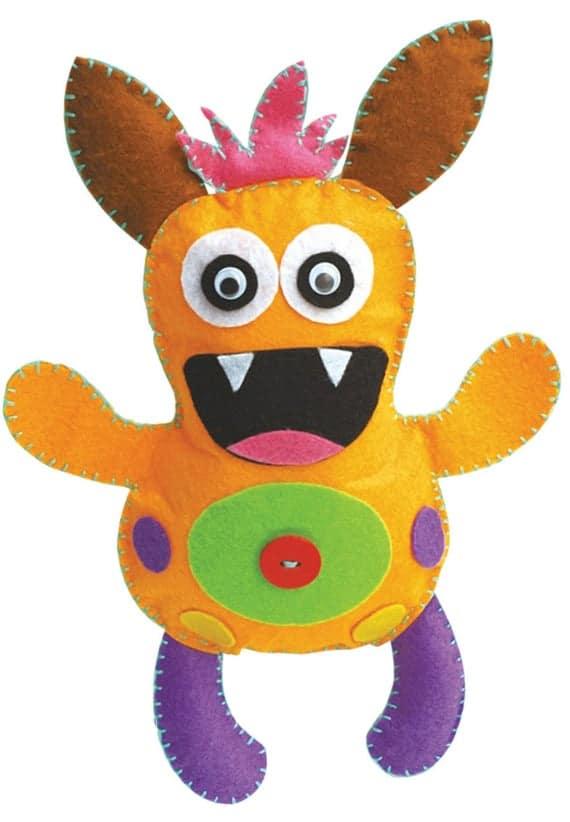 Scary Monster Craft Kit Children's Monster Making Kit | Etsy