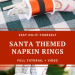 Napkin on a table
