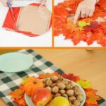 Fall placemat collage