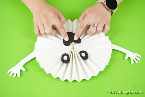Gluing face onto ghost fan