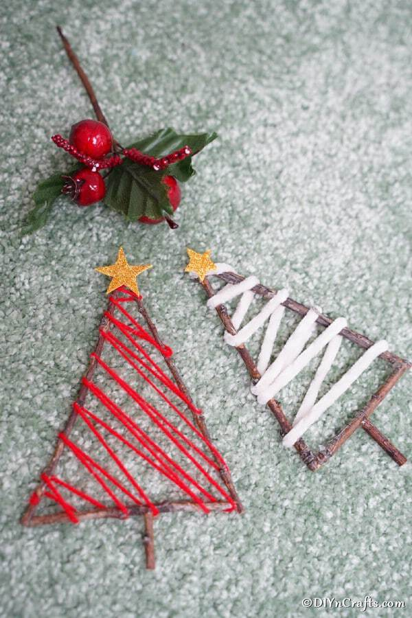 Twig tree ornament