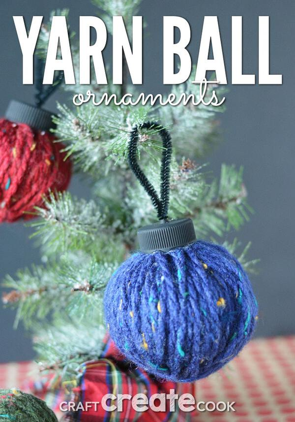Yarn ornament