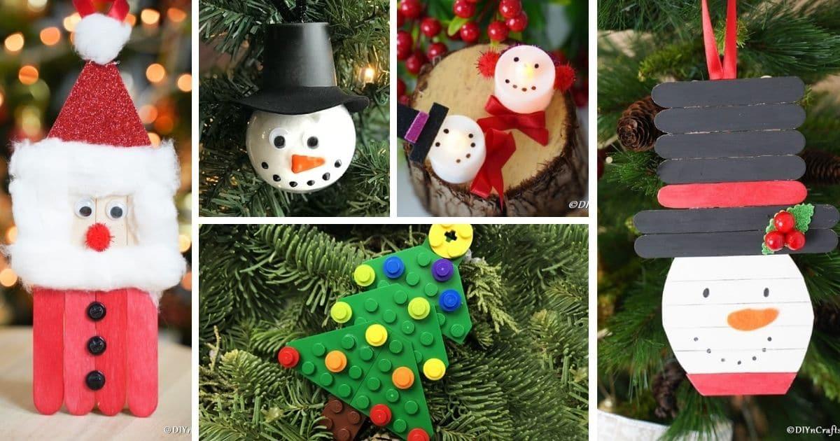 60 Diy Christmas Ornaments To Hang On Your Tree