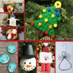 Ornaments collage