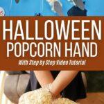 Popcorn hand collage