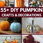 Pumpkin decor collage