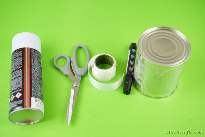 Tin can ghost supplies
