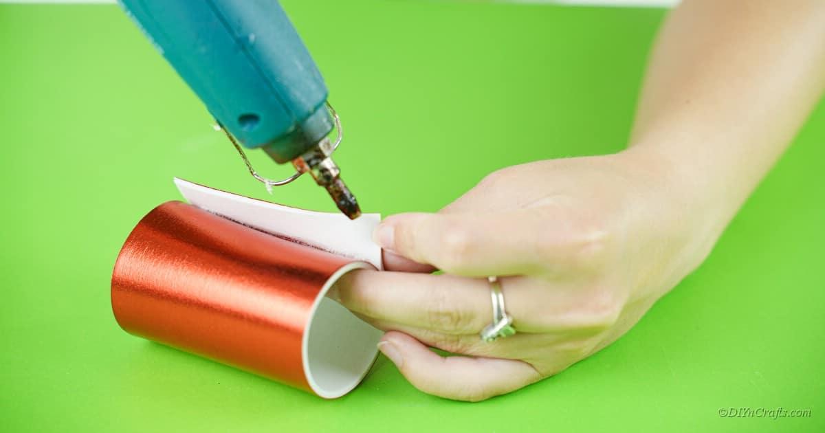 How to make a Festive DIY Santa Napkin Ring