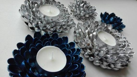 Candle holder Decoration Gift | Etsy