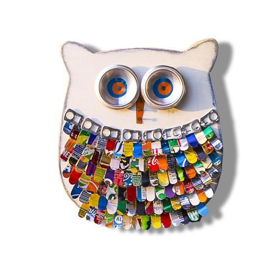 Gufo OWLY Gufo di legno Wooden owl Gufo Owl | Etsy