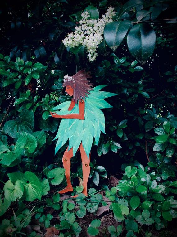 Leaf fairy | Etsy