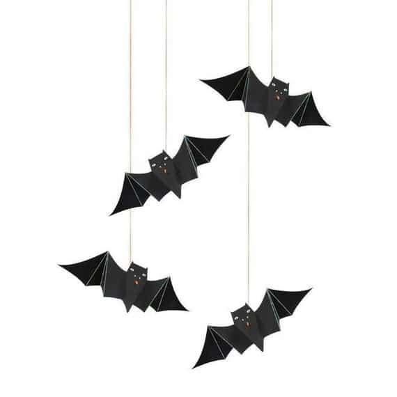 Hanging Bat Halloween Decorations S2127 | Etsy