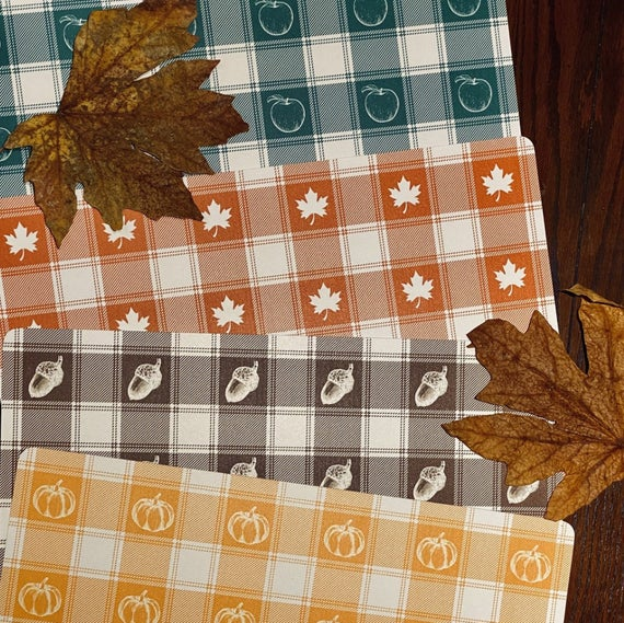 Fall Decor Placemats | Etsy