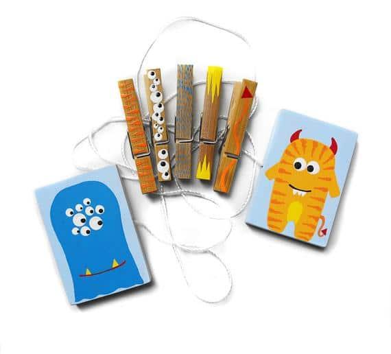Custom Hand Painted Children's Art Display Hanger with | Etsy