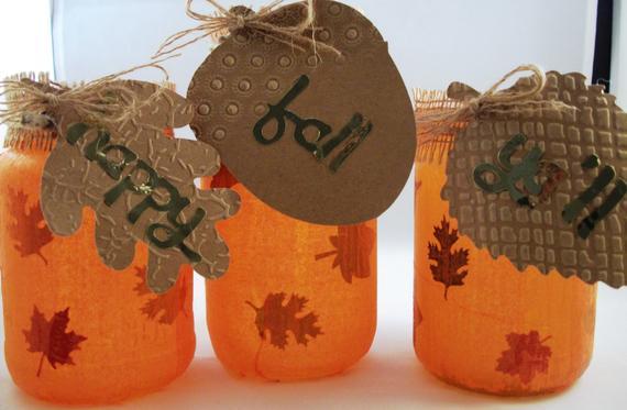 Thanksgiving Fall/Autumn Glow Lanterns | Etsy