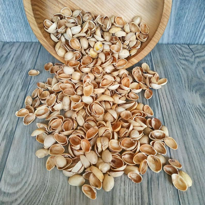 Pistachio shells 3oz (85g) Empty