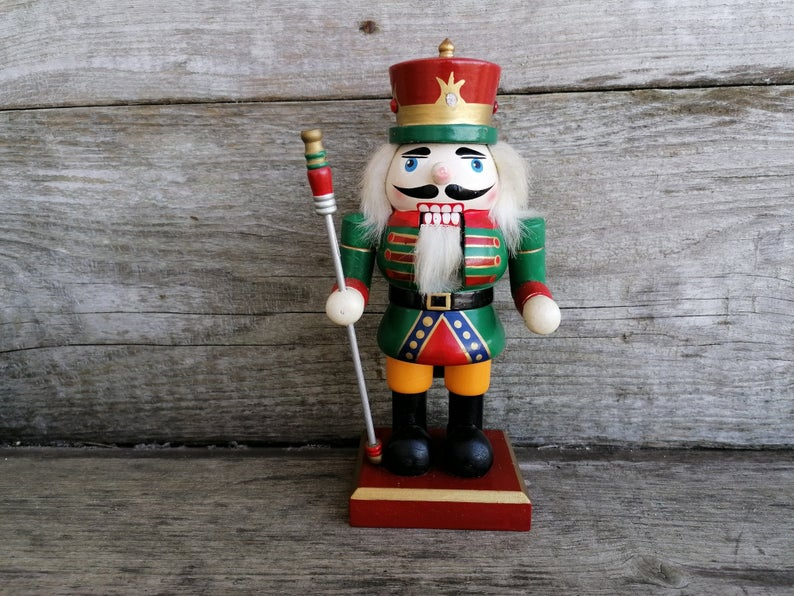 Vintage German Nutcracker King