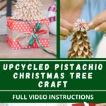 Pistachio Christmas tree DIY instructions