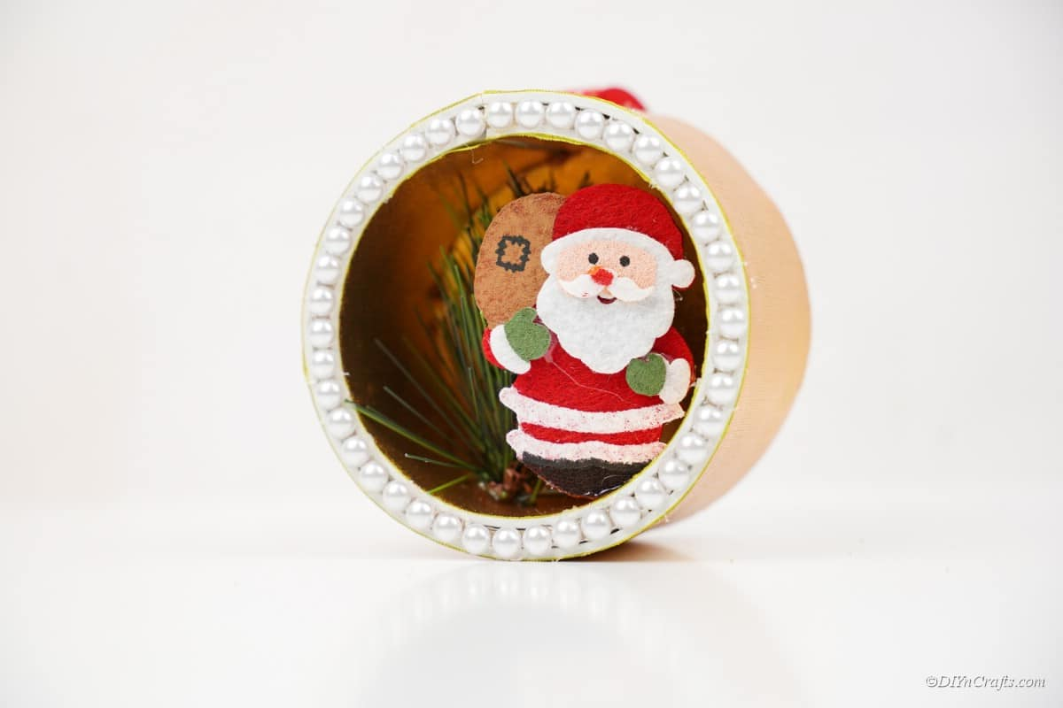 miniature Santa craft piece