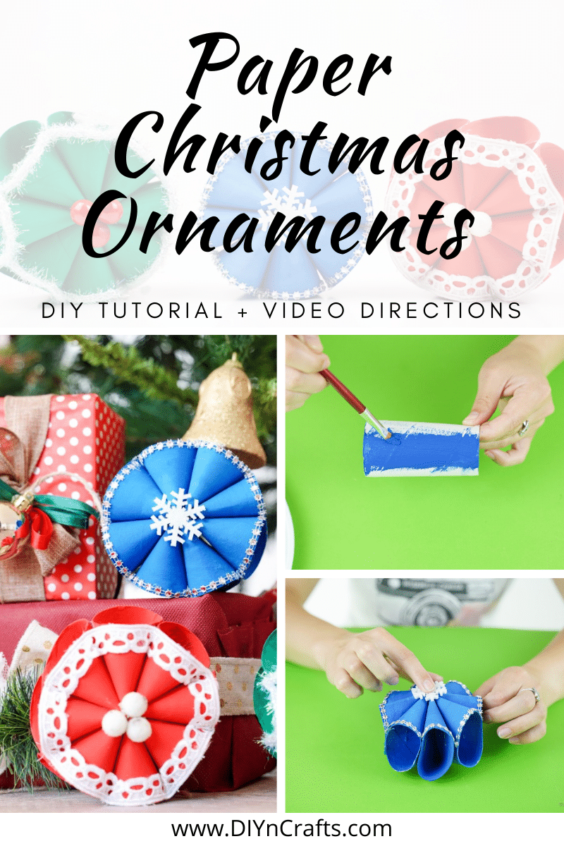 Step by step to make a snowflake craft