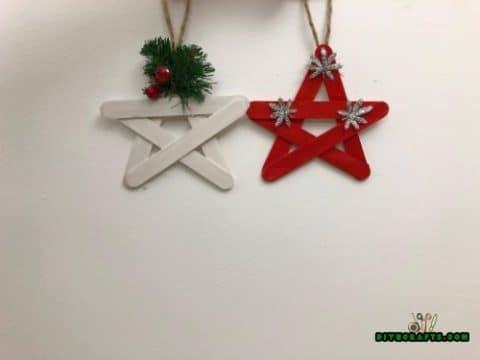 Rustic stars hanging