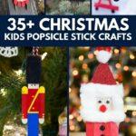 Craft stick crafts collage