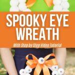 Eyeball wreath collage