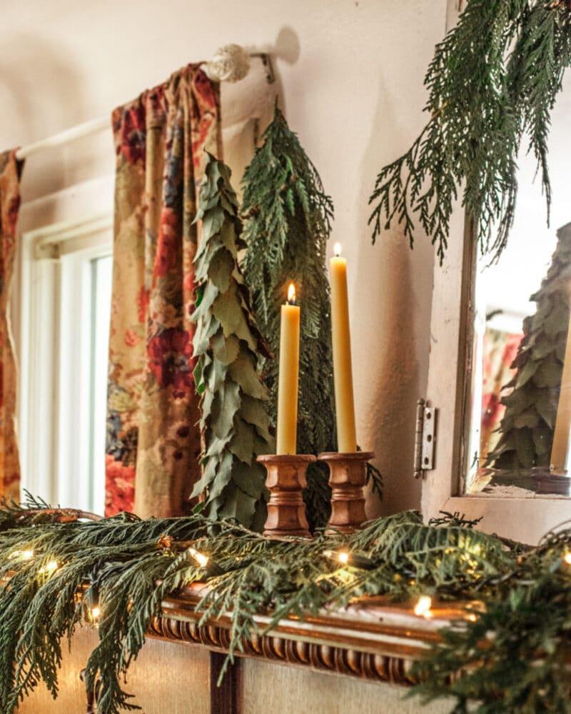 Greenery Christmas tree