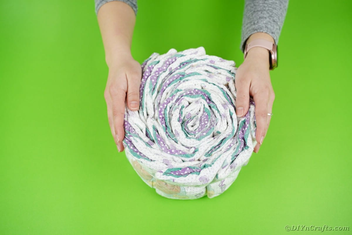 Single roll of diapers