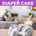 Diaper tricycle on table