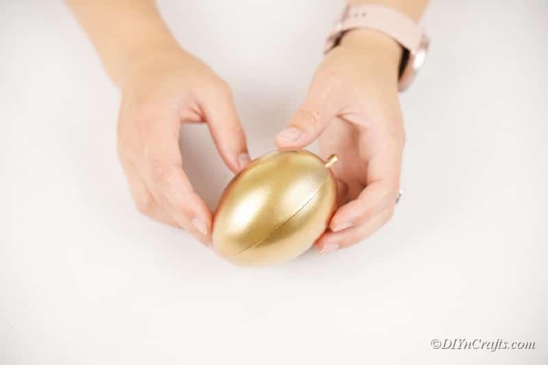 sassembling golden egg